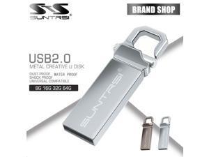 Suntrsi usb flash drive waterproof pen drive 64G/32G/16G/8G/4G pendrive usb stick usb 2.0 customized print logo flash drive