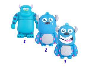 The cute Blue monster usb 2.0 usb flash drive 8gb 16 gb 32 gb pen drive memory stick pendrive u disk