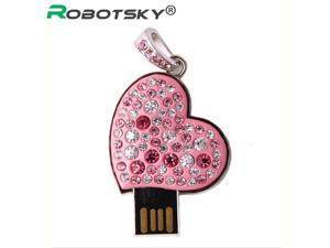 USB Flash Drive past Diamond Bling LOVE USB 2.0 Flash Drive U Disk to 4 GB 8 GB 16 GB 32 GB flash drive USB2