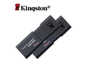 Kingston USB 3.0 USB Flash Drives 8GB 16GB 32GB 64GB Pen Drive Plastic Sleek Memory Memorias Disks Real Capacity DT100G3