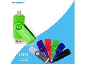 MOWEEK M32 OTG external storage micro usb drive memory stick 16GB usb stick otg usb flash drive