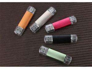 OTG micro usb 2.0 Smart Phone USB Flash Drive/U Disk/Creativo Pendrive/Memory Stick/Disk/Thumb/Gift LOGO S245