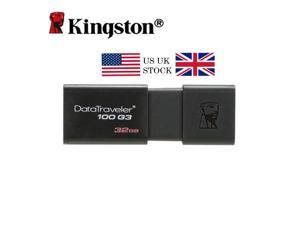 US UK Stock Kingston USB 3.0 USB Flash Drives 16GB 32GB 64GB Pen Drive Plastic Sleek Memory Memorias Disks Pendrive 16GB DT100G3