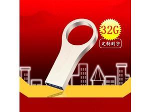waterproof metal usb flash drive Pen drive 4G/8G/16G/32G/64G USB2.0 Flash Memory Stick Drive u disk PenDrive