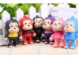 The cute Monkey usb 2.0 usb flash drive 8gb 16 gb 32 gb pen drive memory stick pendrive u disk