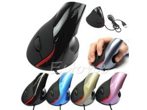 For Ergonomic Design USB Vertical Optical Mouse Wrist Healing For Computer PC Laptop
