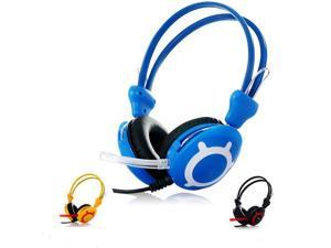 Good Quality Stereo Game Gaming Music Headphones Headset with Mic for PC Computer Gamer Skype