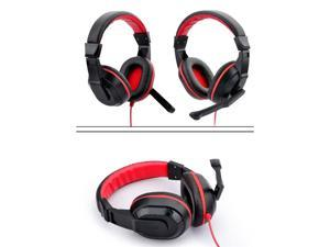 3.5mm Gaming Stereo Headset Earphone Headphones For Xiaomi MP3 MP4 Mic PC Computer Laptop 770 Black Auriculares