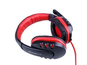 Pro Skype Gaming Game Stereo Headphones Headset Earphone Mic For PC Computer Laptop Gaming Headphones