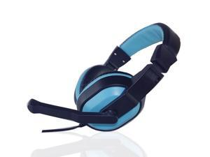 Gaming Stereo Headphones Headset Earphone w/ Mic PC Computer KANGLING 770 Blue&black Gaming Headset