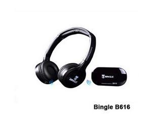 Bingle B616 stereo Wireless Headset Headphones with Microphone FM Radio for MP3 PC TV Audio Phones auriculares casque sans fil