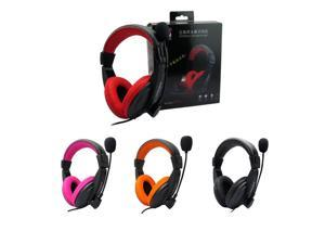 Good Quality Gaming Game Stereo Headphones Headset Earphone with Mic for PC Computer Gamer Skype