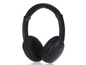 Super Bass Headphones 5in1 Hi Fi Wireless Headphones Earphone Headset for PC Laptop TV FM Radio MP3 for android Phones Rainbow