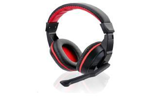 Skype Gaming Game Stereo Headphones Headset Earphone With Microphone For PC Laptop Black&RED Hot Sale