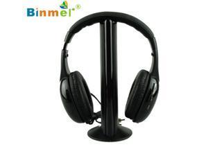 Adroit 5IN1 Wireless Headphone Casque Audio Sans Fil Ecouteur Hi Fi Radio FM TV MP3 MP4 DEC16