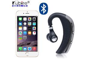 Wireless Stereo Bluetooth Headset Headphone Bluetooth V4.0 Ear Hanging Ear Buds Earphone Car Driver Handsfree Earphones With Mic
