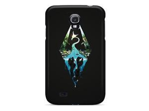 Galaxy S4 Case Slim [ultra Fit] Skyrim Artwork Protective Case Cover