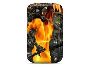 Top Quality Case Cover For Galaxy S3 Case With Nice Skyrim Battle Appearance