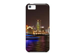 Arrival Case Specially Design For Iphone 5/5S/SEc (festival Of Lights Shanghai At Night)