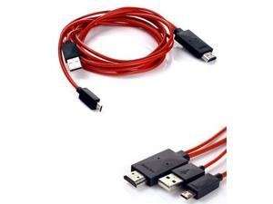 Micro USB MHL to HDMI  TV AV Cable Adapter Mhl Hdmi For Samsung Galaxy S5 S4 S3 Note 2 Note 3