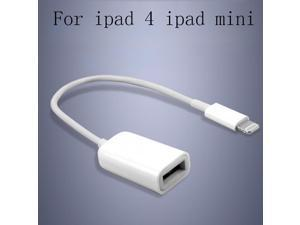 1Pcs USB OTG Micro USB Male To USB 2.0 Female OTG Cable Adapter Cord for iPad Mini for iPad 4 High Quality Fast