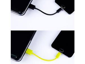 Portable Micro USB Cable Mini 12cm Micro USB Data Sync Charger Short Microusb Cable for Samsung S6 Android Accessories Black