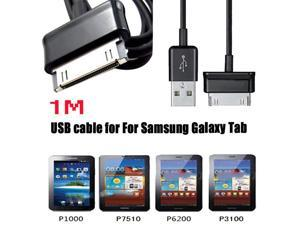 1M 3FT USB Data Sync Charger Charge Flex Cable For Samsung Galaxy Tab 2 10.1 P5100 P5110 P5113 P3100 P3110 P6800 N8000