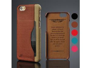 For iPhone 6 Case Guchi Grain Retro Leather Skin Back Cover For Case iPhone 6S Plus/6 Plus/6S Card Slot Mobile Phone Cases Cover