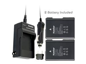 Kastar Battery (2-Pack) and Charger Kit for Nikon EN-EL14, EN-EL14a, MH-24 work with Nikon Coolpix P7000, Coolpix P7100, Coolpix P7700, Coolpix P7800, D3100 DSLR, D3200 DSLR, D3300 DSLR, D5100 DSLR, D