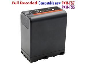 Kastar BP-U66 Battery (1-Pack) for Sony BP-U90, BP-U60, BP-U30 and PXW-FS5, PXW-FS7, PXW-X180, PMW-100/150/150P/160/200/300, PMW-EX1/EX1R, PMW-EX3/EX3R, PMW-EX160/EX260/EX280, PMW-F3/F3K/F3L, HD422