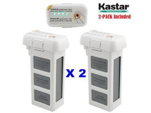 Kastar Phantom 2 [Vision] Battery 2-Pack 11.1V 5400mah 59.94wh 10C LiPo (Limefuel Air L60P) Extended Spare Replacement Battery for DJI Phantom2 Quadcopter Drone including Vision, and Vision+