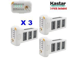 Kastar Phantom 2 [Vision] Battery 3-Pack 11.1V 5400mah 59.94wh 10C LiPo (Limefuel Air L60P) Extended Spare Replacement Battery for DJI Phantom2 Quadcopter Drone including Vision, and Vision+