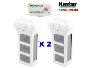 Kastar High Capacity Phantom 2 Battery 2-Pack 11.1V 6000mah 66.6wh 10C Extended Spare Replacement Battery for DJI Phantom2 Quadcopter Drone including Vision, and Vision+
