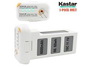 Kastar High Capacity Phantom 2 Battery 1-Pack 11.1V 6000mah 66.6wh 10C Extended Spare Replacement Battery for DJI Phantom2 Quadcopter Drone including Vision, and Vision+