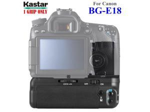 Kastar Battery Grip for Canon BG-E18 and Canon EOS M3 Rebel T6i Rebel T6s 750D 760D 8000D Kiss X8i, Proffessional Multi-Power Vertical Shooting Battery Grip [Power Sources: 1or 2 battery packs LP-E17]