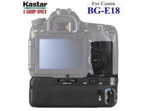 Kastar Battery Grip for Canon BG-E18 and Canon EOS M3 Rebel T6i Rebel T6s 750D 760D 8000D Kiss X8i, Proffessional Multi-Power Vertical Shooting Battery Grip [Power Sources: 1or 2 battery packs LP-E17]