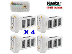 Kastar Phantom 2 [Vision] Battery 4-Pack 11.1V 5400mah 59.94wh 10C LiPo (Limefuel Air L60P) Extended Spare Replacement Battery for DJI Phantom2 Quadcopter Drone including Vision, and Vision+