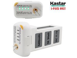 Kastar Phantom 2 [Vision] Battery 1-Pack 11.1V 5400mah 59.94wh 10C LiPo (Limefuel Air L60P) Extended Spare Replacement Battery for DJI Phantom2 Quadcopter Drone including Vision, and Vision+