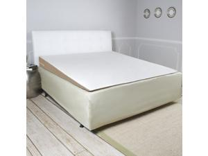 Avana Inclined Acid Reflux Memory Foam Mattress Topper Wedge, Queen-Size Bed