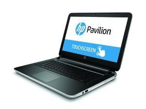 "HP Bilingual Notebook Pavilion 15-p022ca AMD A4-Series A4-6210 (1.80 GHz) 6 GB Memory 500 GB HDD AMD Radeon R3 Series 15.6"" Touchscreen Windows 8.1 64-Bit"