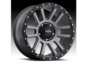Ultra Xtreme X107 Satin Graphite 18x9 8x180 12mm (107-8998GN+12)