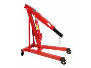 Premium Steel 3 Ton 6000 LB Heavy Duty Engine Hoist Cherry Picker Shop Crane
