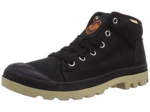 Women's Palladium Pampa Sport TW Casual Boot Lace Up Black/Mojave Dsrt 93311-027