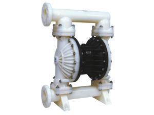 "Double Diaphragm Air Pump PII.300 Chemical Industrial Polypropylene 3.00"" Inlet / Outlet"