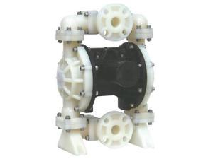 """Double Diaphragm Air Pump PII.100 Chemical Industrial Polypropylene 1.00"""" Inlet / Outlet"""