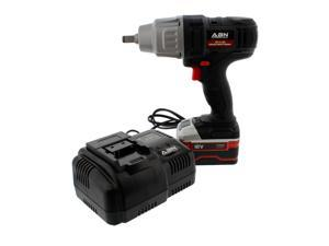 ABN 4073 18V 1 #47;2 Inch Cordless Impact Wrench 4.0AH Lithium-Ion 1 Battery Kit