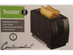 Continental Electrics CE23419 2 Slice Toaster