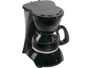 Continental Electrics CE23659 Dcm 4-Cup Coffee Maker Black  Disc Pause-N-Serve, Permanent Filter And Keep Warm Plate