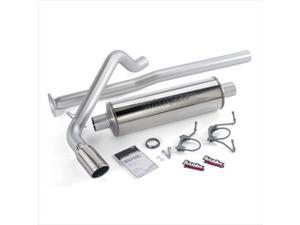 BANKS 48138 Single Monster Exhaust System, 2005-2006 Toyota