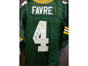 Powers Collectibles 17220 Signed Favre Brett -Green Bay Packers Green Bay Packers Wilson Authentic J